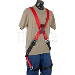 Bashlin Arc Flash Harness - Metal D-Ring