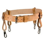 Bashlin Leather Support Belt (Gut Strap)