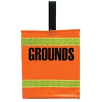 "Warning Flag ""Grounds"""