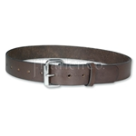 Amish Cow Hide Brown Leather Belt