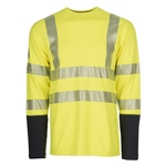 DragonWear POWER DRY® Hi Vis Pocket FR Shirt CLOSEOUT