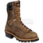 "Thorogood 10"" Lace-To-Toe Waterproof Insulated Logger Boot"