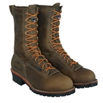 "Carolina 10"" Waterproof Composite Toe EH Logger Boot CLOSEOUT"