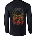 """Spikes, Splinters and Sweat"" Long Sleeve Black Tee CLOSEOUT"
