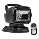GoLight Portable Remote Control Black Search Light