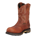 "Ariat Workhog H2O Comp Toe 10"" Pull On Work Boot"