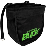 Buckingham Black Canvas Bolt Bag With Magnet