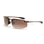 Crossfire ES4 HD Brown Flash Mirror Lens With Crystal Brown Frame Safety Glasses