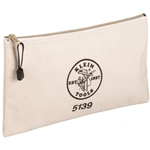 "Klein Canvas Zipper Bag 7""x12"""