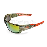 Crossfire Cumulus Gold Mirror Lens With Camo Frame