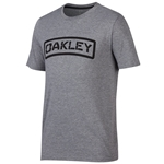 Oakley O-Tab Heather Gray Tee