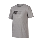 Oakley 50/50 Glory Flag Heather Gray Tee CLOSEOUT