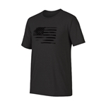 Oakley 50/50 Glory Flag Blackout Light Heather Tee CLOSEOUT