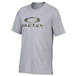 Oakley Stealth  Heather Gray Tee CLOSEOUT