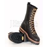 "Hoffman 10"" Pole Climber Steel Toe Boot CLOSEOUT"