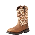Ariat WorkHog Patriot Camo Pull On Boot