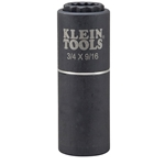 Klein 2-IN-1 Impact Socket 9/16 x 3/4 12-Point