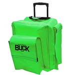 BUCKPACK™ Gear Backpack with Wheels - Safety Green