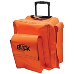 BUCKPACK™ Gear Backpack with Wheels - Orange