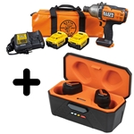 Klein High-Torque Impact Wrench Kit