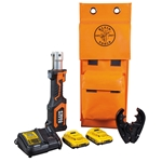 Klein 7-Ton In-Line Battery O-D3 Crimping Tool Kit-FREE OFFER