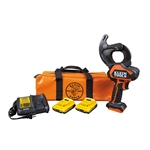 Klein Closed-Jaw Battery ACSR Cable Cutter Kit