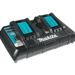Makita 18V LXT® Lithium‑Ion Dual Port Rapid Optimum Charger