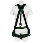 BuckOhm™ Blackout H-Style Harness With Pigtail