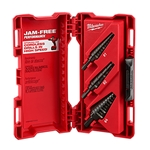 Milwaukee Step Drill Bit Set - 3PC