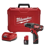 "Milwaukee M12™ 3/8"" Drill/Driver Kit"