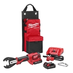 Milwaukee M18™ FORCE LOGIC™ 6T Utility Crimper Kit with D3 Grooves and Fixed BG Die