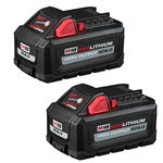 Milwaukee M18™ REDLITHIUM™ HIGH OUTPUT™ XC6.0 Battery Pack (2 Pk)