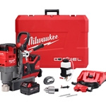 "Milwaukee M18 FUEL™ 1-1/2"" Lineman Magnetic Drill High Demand™ Kit"