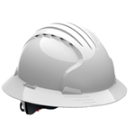 Evolution® Deluxe 6161 White Hard Hat