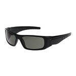 Squadron™  Full Frame Black/Gray Safety Glasses