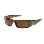 Squadron™ Full Frame Camo/Brown Safety Glasses