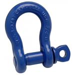 "Campbell 5/8"" Anchor Shackle, Screw Pin, Forged Carbon Steel"