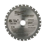 Milwaukee Circular Saw 30T Metal Cutting Blade