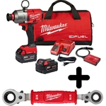 "Milwaukee M18 FUEL™ 7/16"" Hex Utility High Torque Impact Wrench w/ ONE-KEY™ Kit"