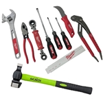 10-Piece Milwaukee Lineman's Hand Tool Kit