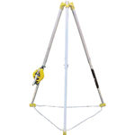 Confined Space Tripod with Rescue Unit