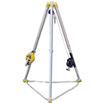 Confined Space Tripod with Rescue Unit & Work Winch