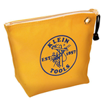 Klein Yellow Canvas Zippered Tool Pouch (10-Inch)