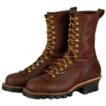 "Hall's 10"" Waterproof Steel Toe Lineman Patch Boot"