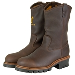 "Hall's 12"" Pull-On Waterproof Composite Toe Wellington Boot"