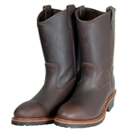 "Hall's 12"" Pull-On Steel Toe Western Wellington Boot"