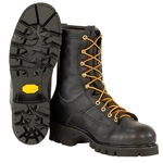 "Hall's 8"" Composite Toe, Lace-To-Toe Lineman's Boot"