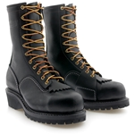 "Wesco 10"" Voltfoe® Composite Toe EH Black Lineman's Boot"