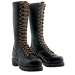 "Wesco 16"" Voltfoe® Composite Toe EH Black Lineman's Boot"