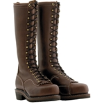 "Wesco 16"" Voltfoe® Composite Toe EH Brown Lineman's Boot"